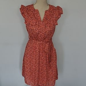 Montaeu | Floral Summer Dress with Tie Size Small